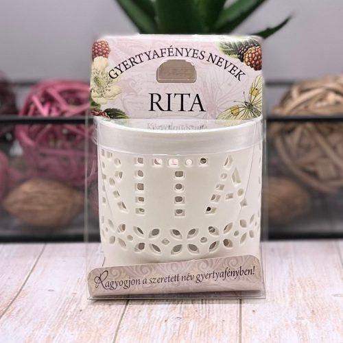 Gyertyafényes nevek - Rita