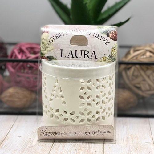 Gyertyafényes nevek - Laura