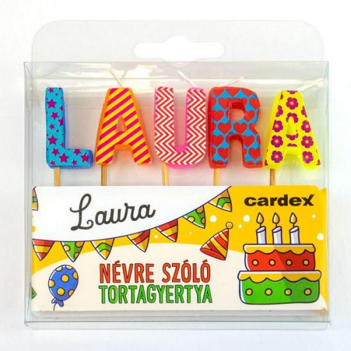 Neves tortagyertya - Laura