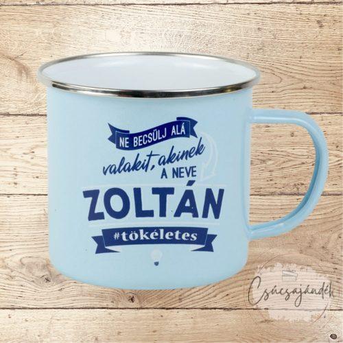 Neves fémbögre - Zoltán