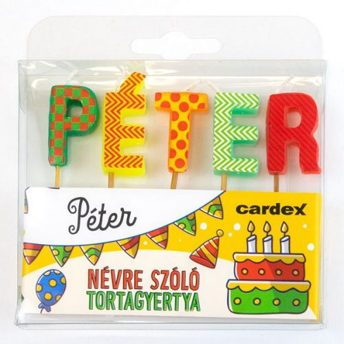 Neves tortagyertya - Péter
