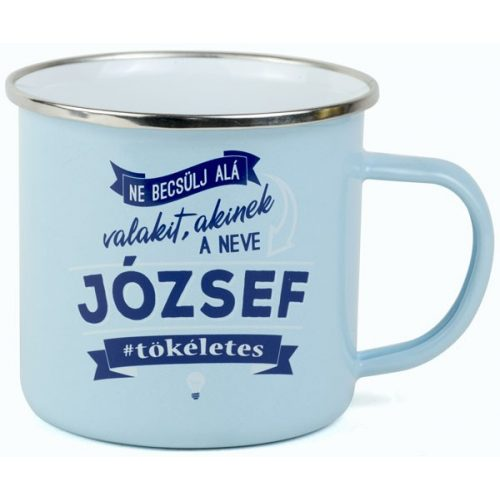 Neves fémbögre - József